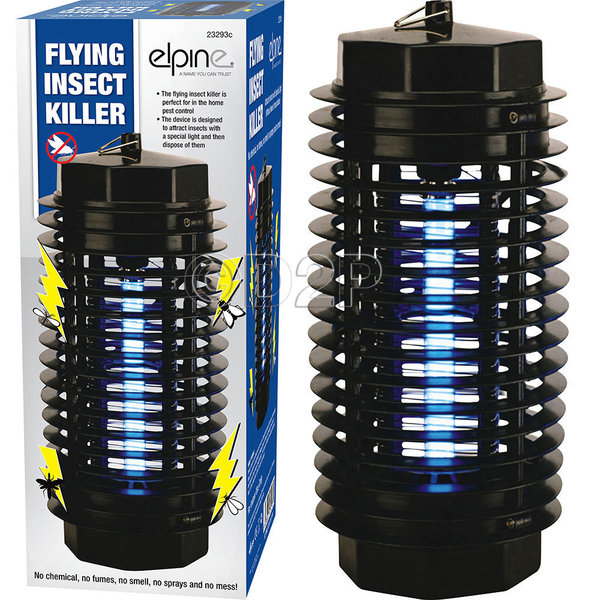 ELECTRONIC INSECTS KILLERS FLY BUG ZAPPER UV FLYING INSECT KILLER