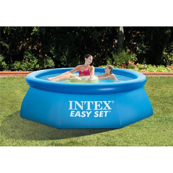 INTEX SWIMMING POOL FAMILY FUN GARDEN SUMMER KIDS WATER PADDLING 244CM X 76CM
