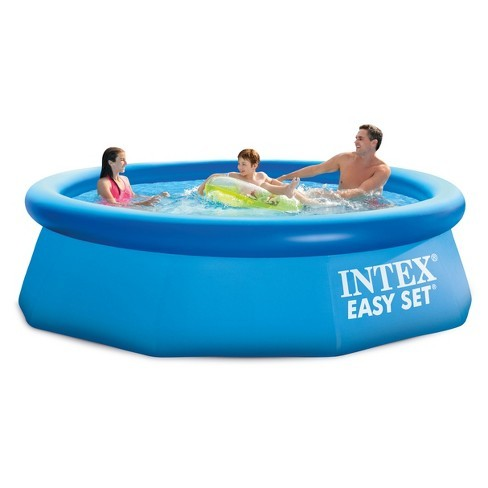 INTEX SWIMMING POOL FAMILY FUN GARDEN SUMMER KIDS WATER PADDLING 305CM X 76CM