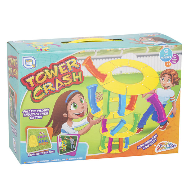 Grafix Tower Crash Playset Kids Fun Toy Gift Summer
