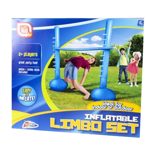 INFLATABLE LIMBO POLE STAND SET GARDEN FUN GAMES PARTY OUTDOOR BALANCE FAMILY …