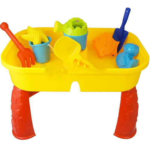 CHILDRENS KIDS TODDLER SAND AND WATER PLAY TABLE ACTIVITY SANDPIT ACCESSORIES