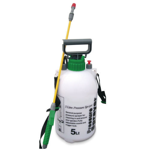 5L GARDEN GENERAL PURPOSE PRESSURE SPRAYER KNAPSACK WEEDKILLER