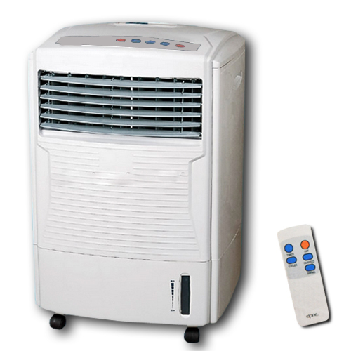 AIR COOLER WITH REMOTE CONTROL COLD HUMIDIFYING FAN TIMER EVAPORATOR WATER TANK